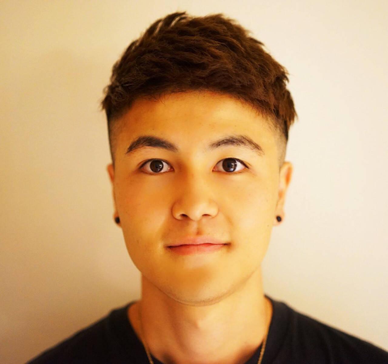 メンズ メンズパーマ ベリーショート メンズヘアヘアスタイルや髪型の写真・画像