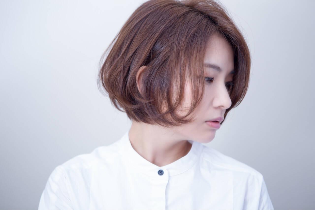 似合わせ モテ髪 大人かわいい アンニュイヘアスタイルや髪型の写真・画像