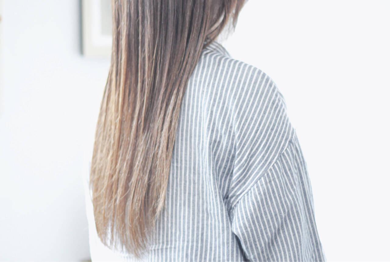 シアーベージュ ミルクティーベージュ ヌーディベージュ ナチュラルヘアスタイルや髪型の写真・画像