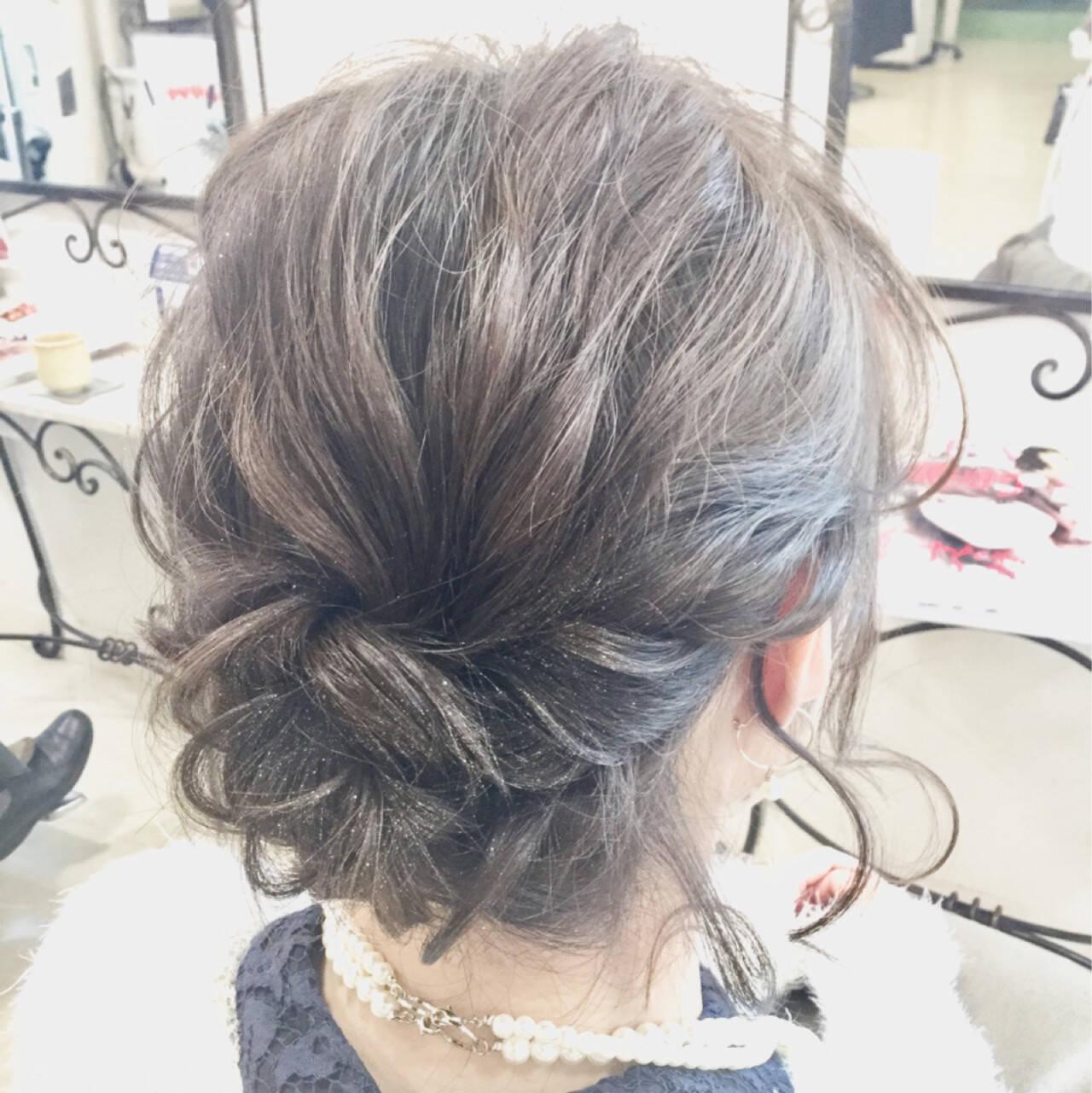 結婚式 モテ髪 ナチュラル 愛されヘアスタイルや髪型の写真・画像