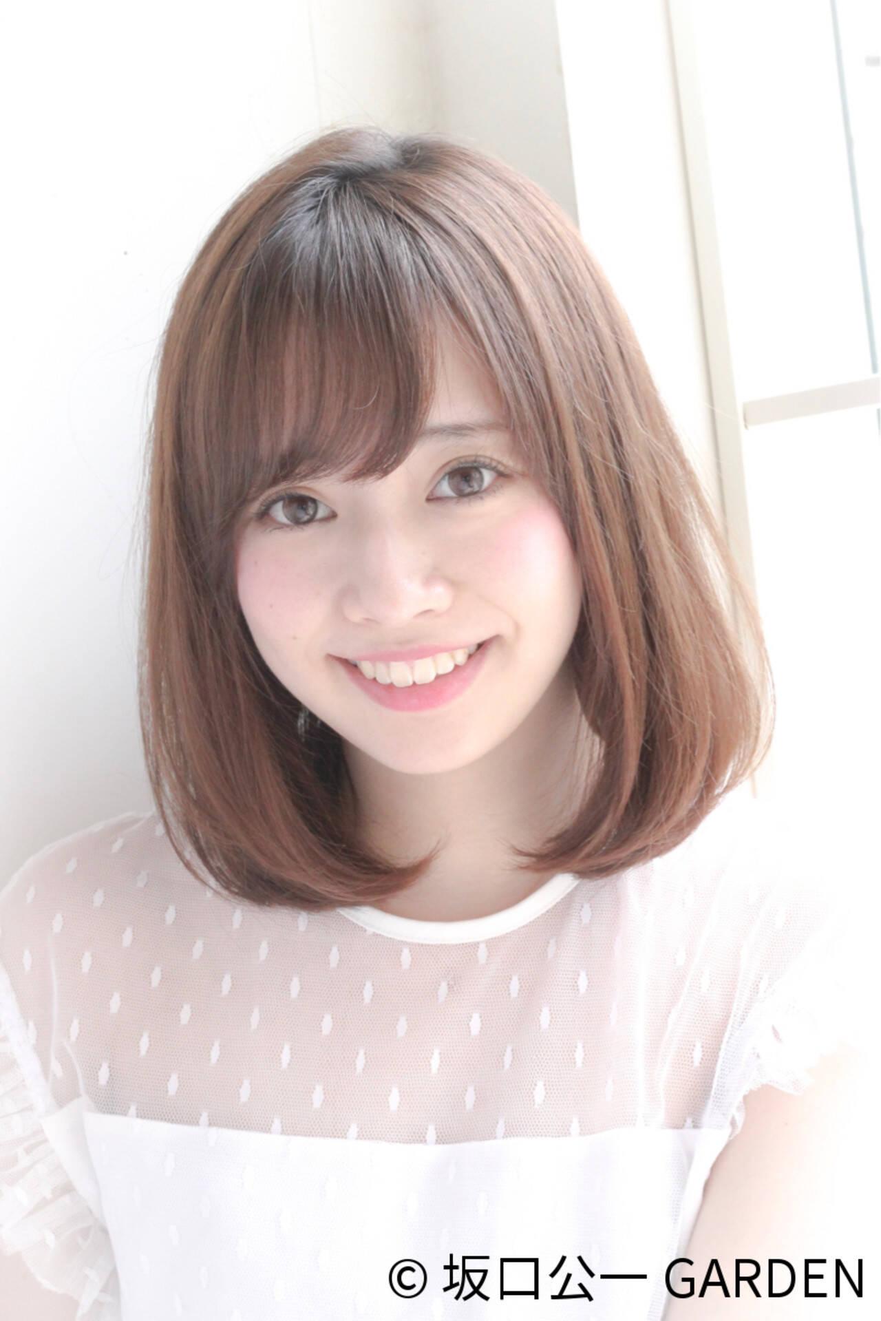 女子会 フェミニン リラックス オフィスヘアスタイルや髪型の写真・画像