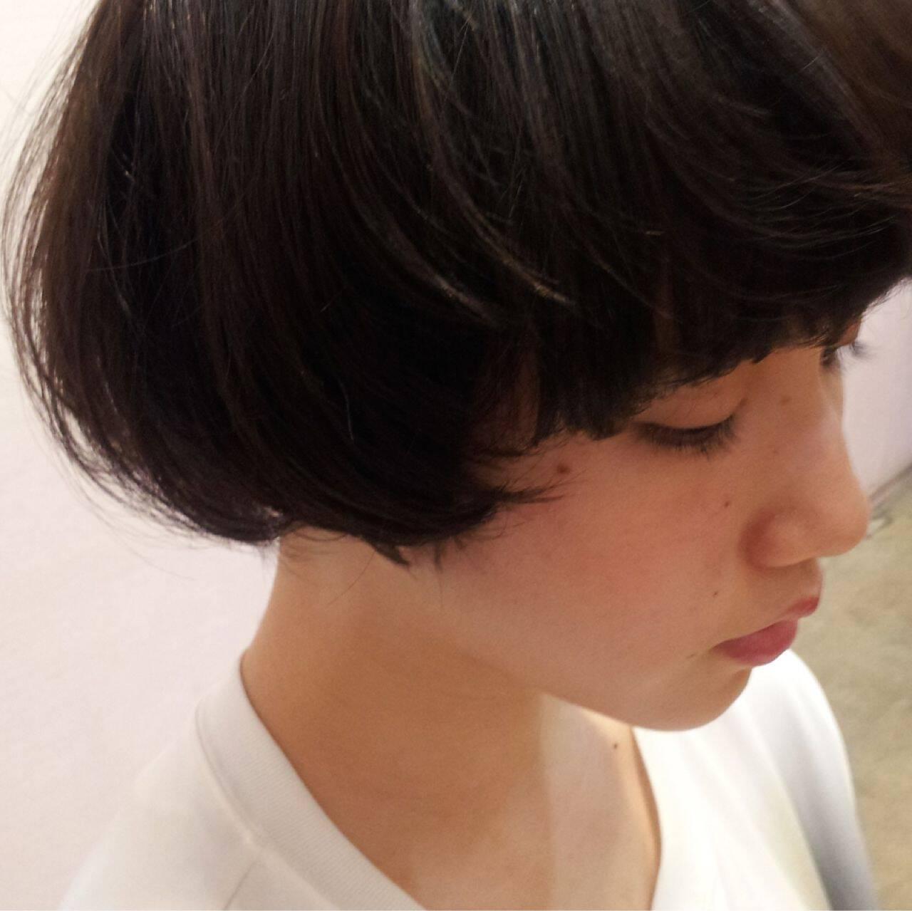 ボブ 木村カエラ ショート ナチュラルヘアスタイルや髪型の写真・画像