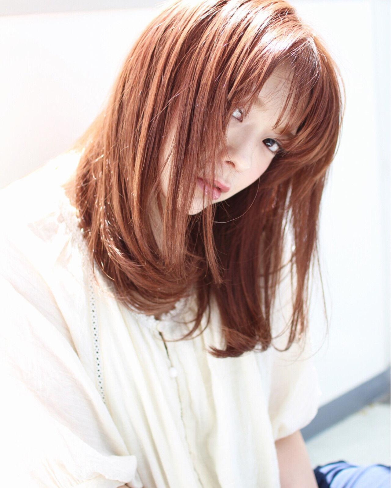 波ウェーブ 外ハネ ピュア ストリートヘアスタイルや髪型の写真・画像