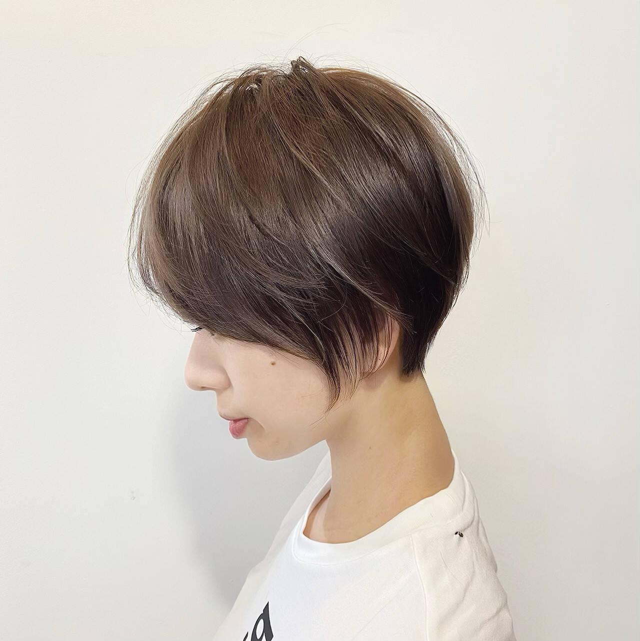ショートヘア 大人かわいい ショートボブ ショートヘアスタイルや髪型の写真・画像