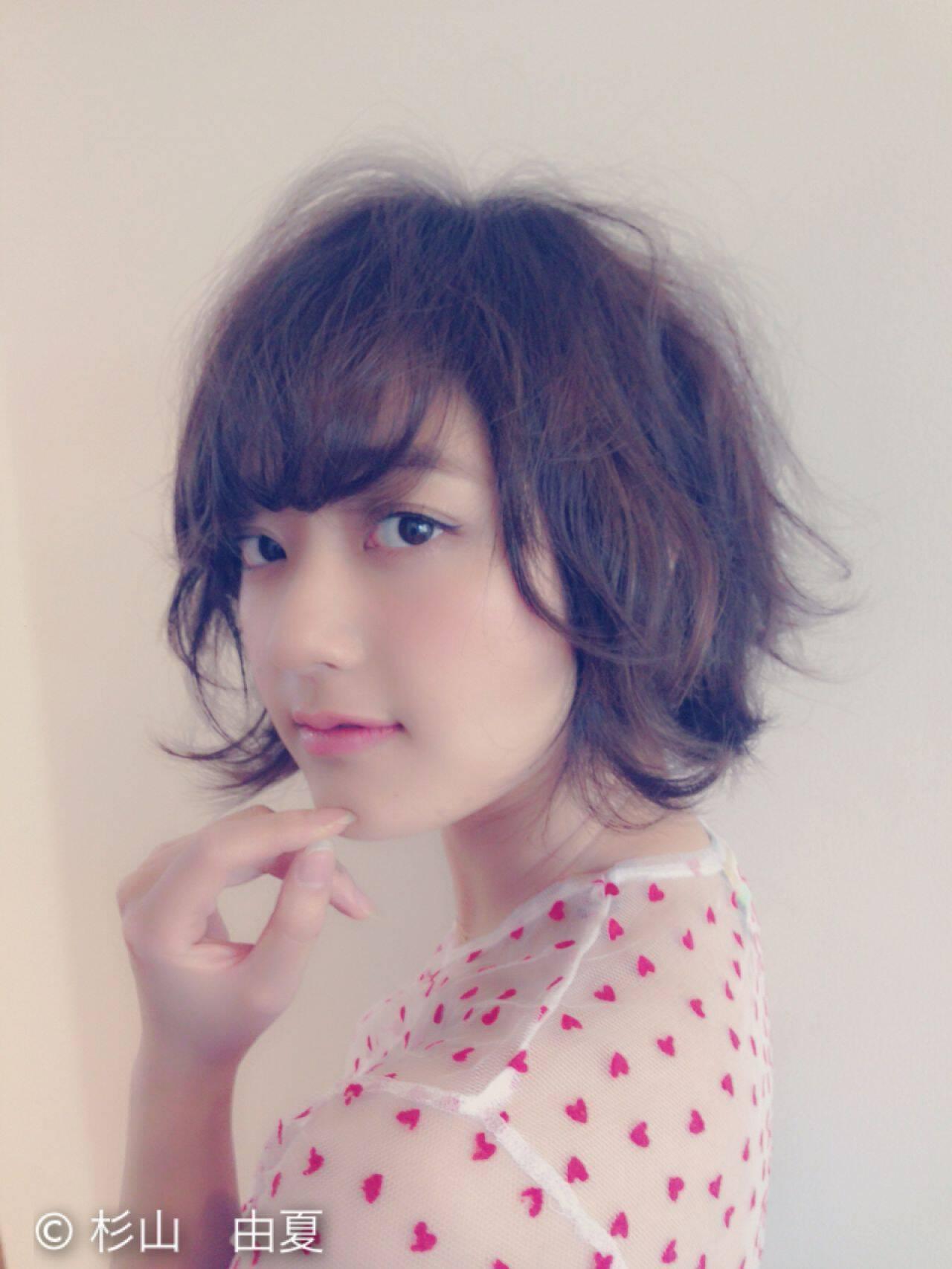 ショート コンサバ モテ髪 愛されヘアスタイルや髪型の写真・画像