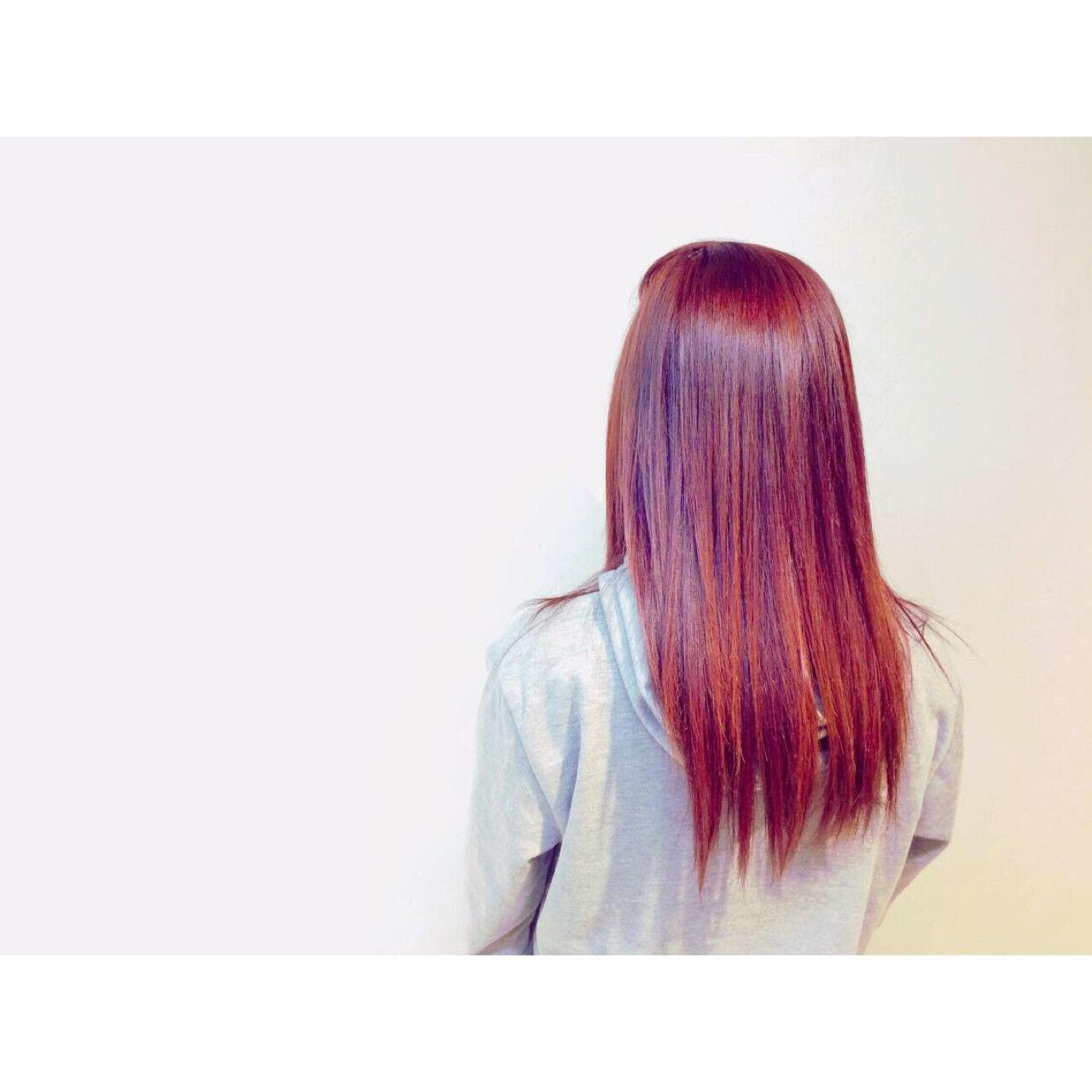 ピンク 上品 エレガント ロングヘアスタイルや髪型の写真・画像