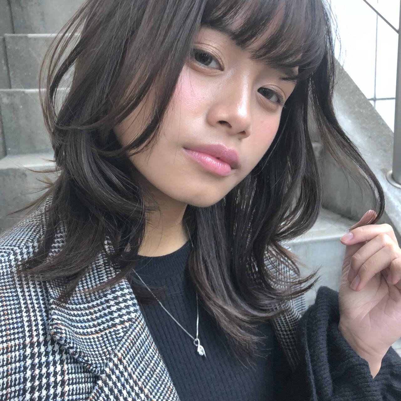 ウェーブ ゆるふわ ナチュラル 簡単ヘアスタイルや髪型の写真・画像
