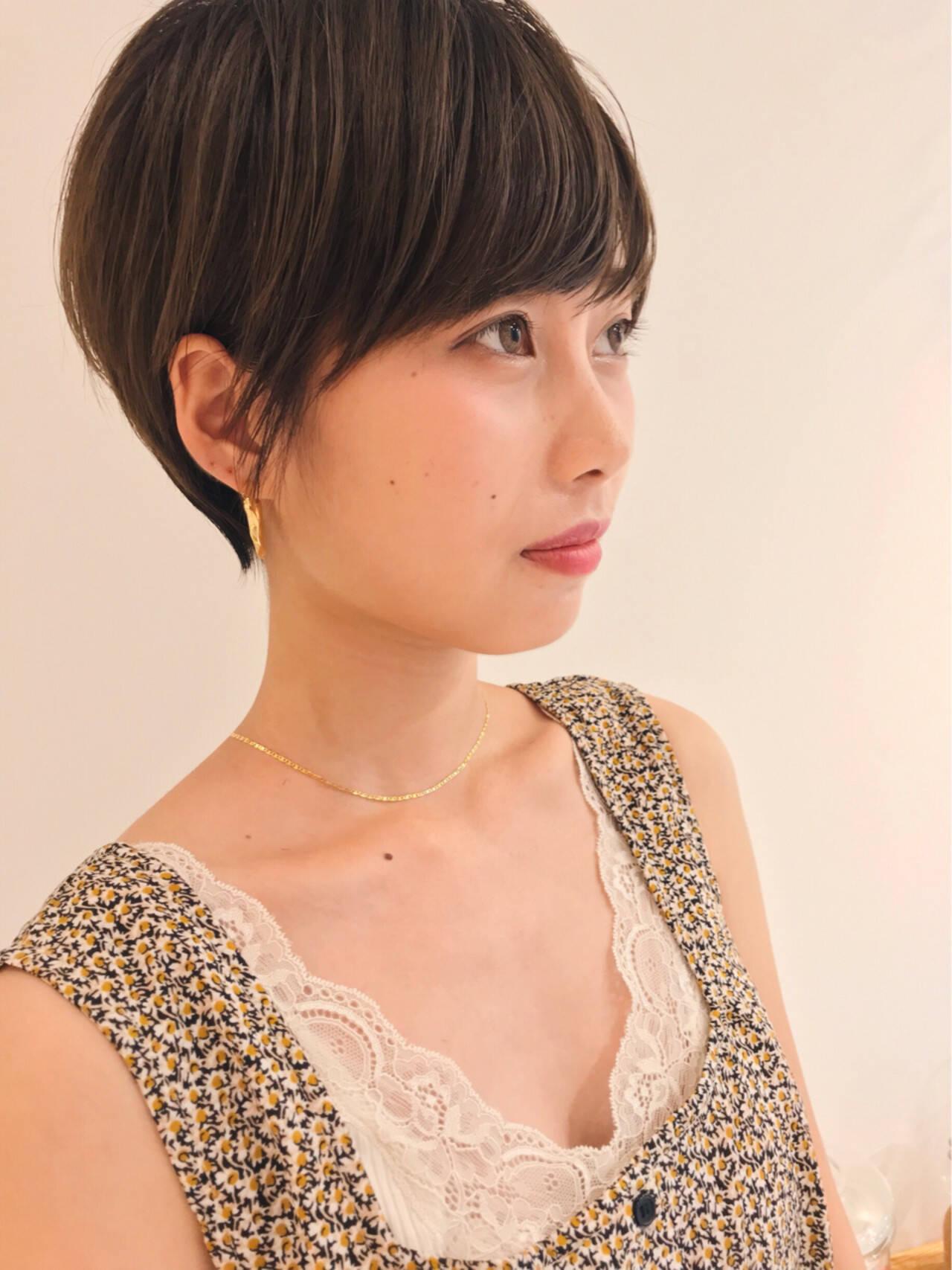 デート かっこいい グレージュ フェミニンヘアスタイルや髪型の写真・画像