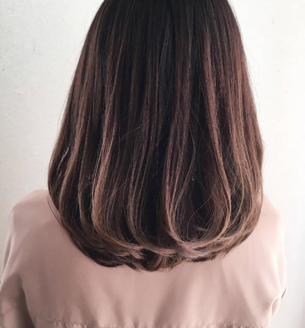 デート 大人かわいい ワンカールスタイリング オフィスヘアスタイルや髪型の写真・画像
