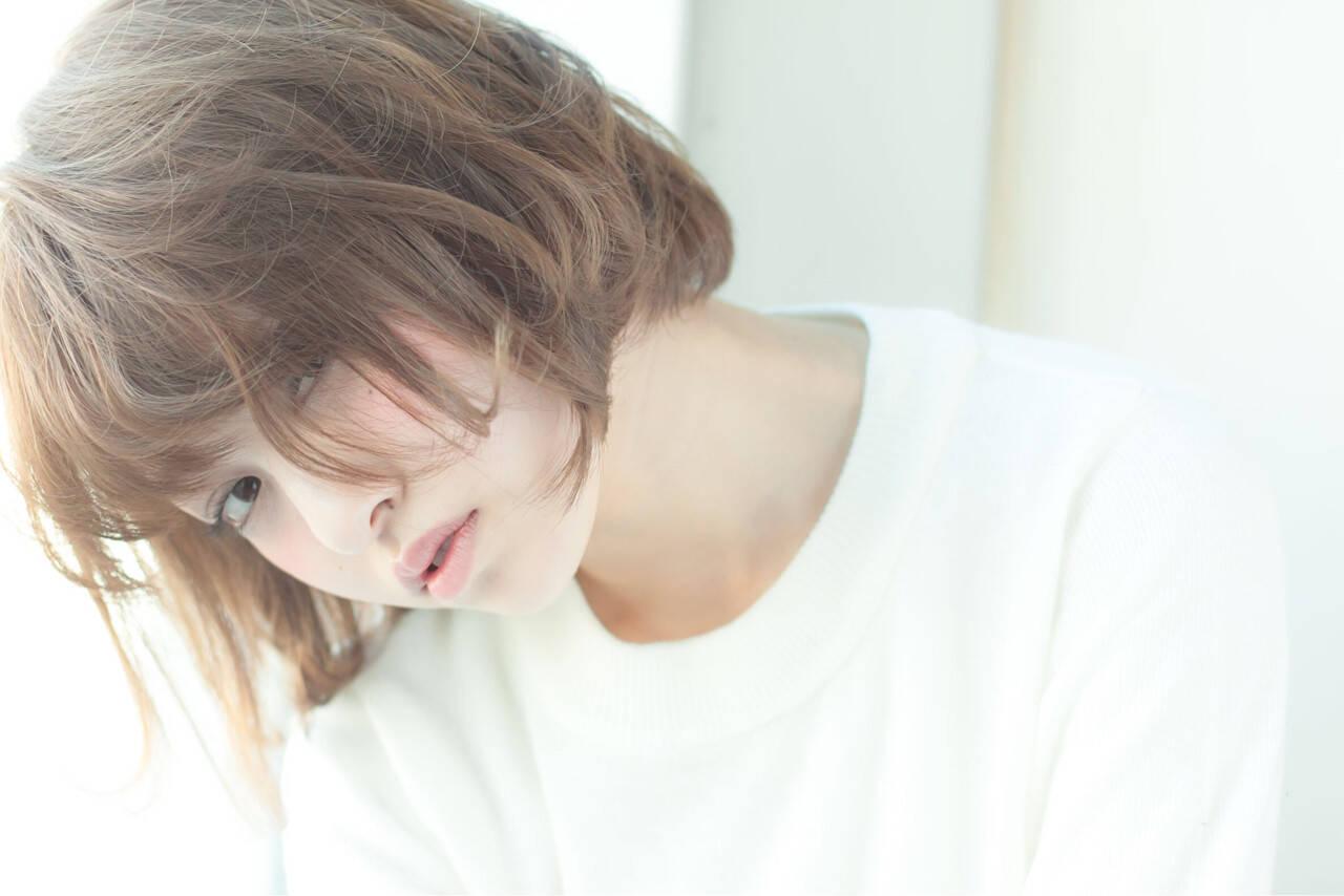 パーマ ナチュラル 簡単 大人かわいいヘアスタイルや髪型の写真・画像