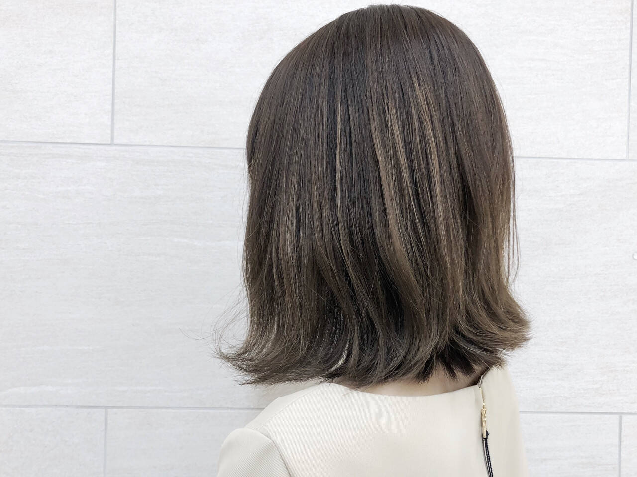 大人女子 ボブ ミディアム ナチュラルヘアスタイルや髪型の写真・画像
