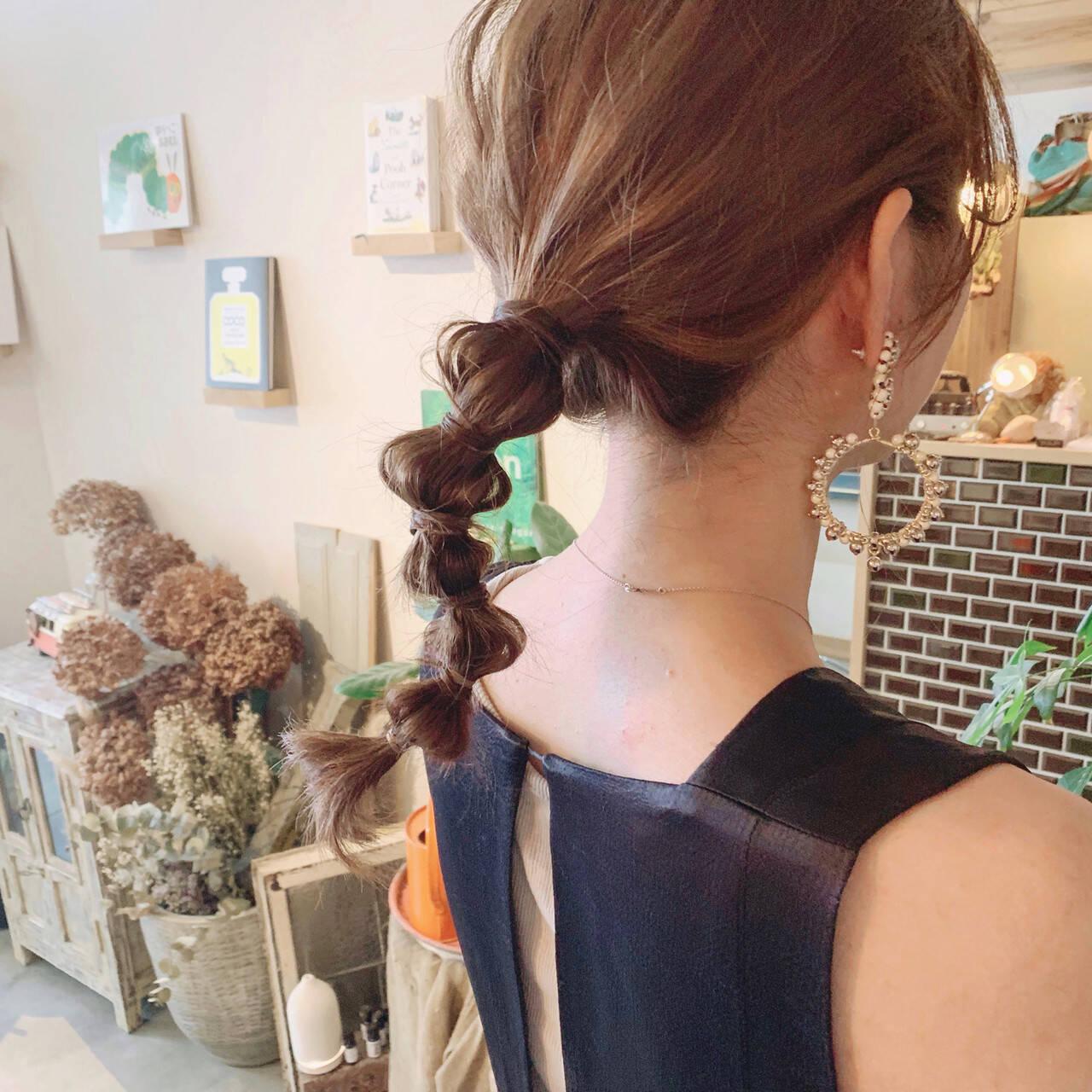 たまねぎアレンジ 簡単ヘアアレンジ 結婚式ヘアアレンジ ヘアアレンジヘアスタイルや髪型の写真・画像