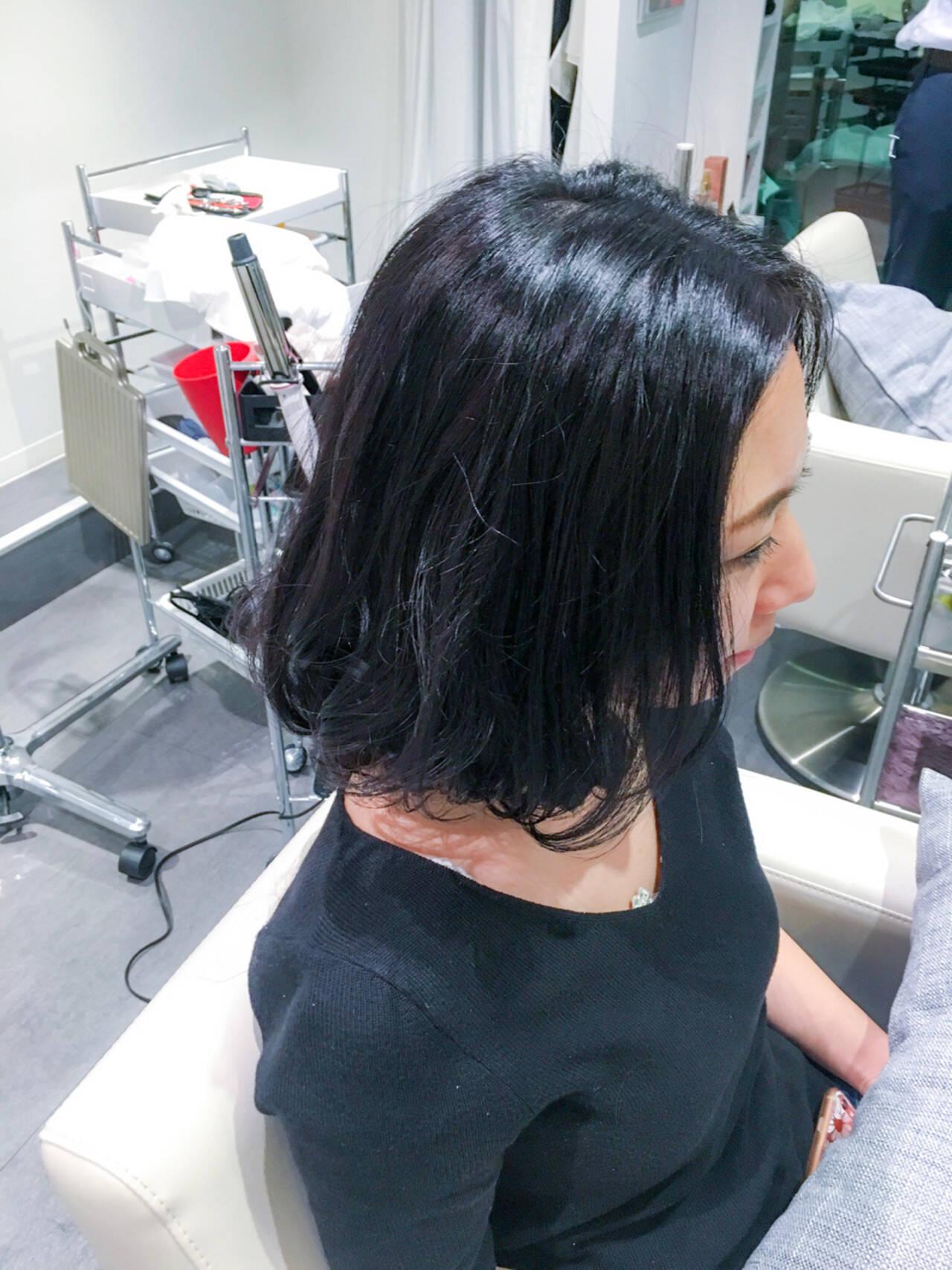 黒髪 デート 色気 ナチュラルヘアスタイルや髪型の写真・画像