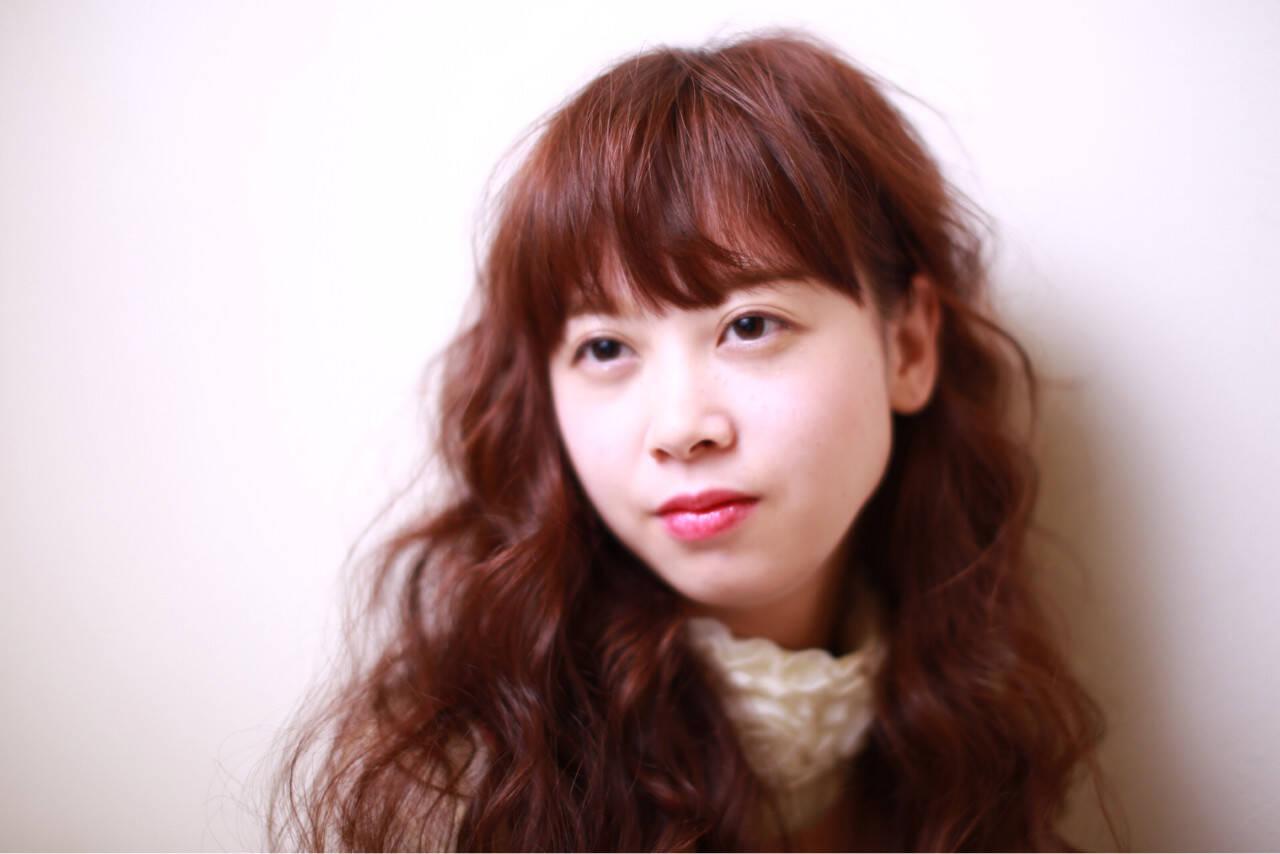 外国人風 フェミニン 大人かわいい パーマヘアスタイルや髪型の写真・画像