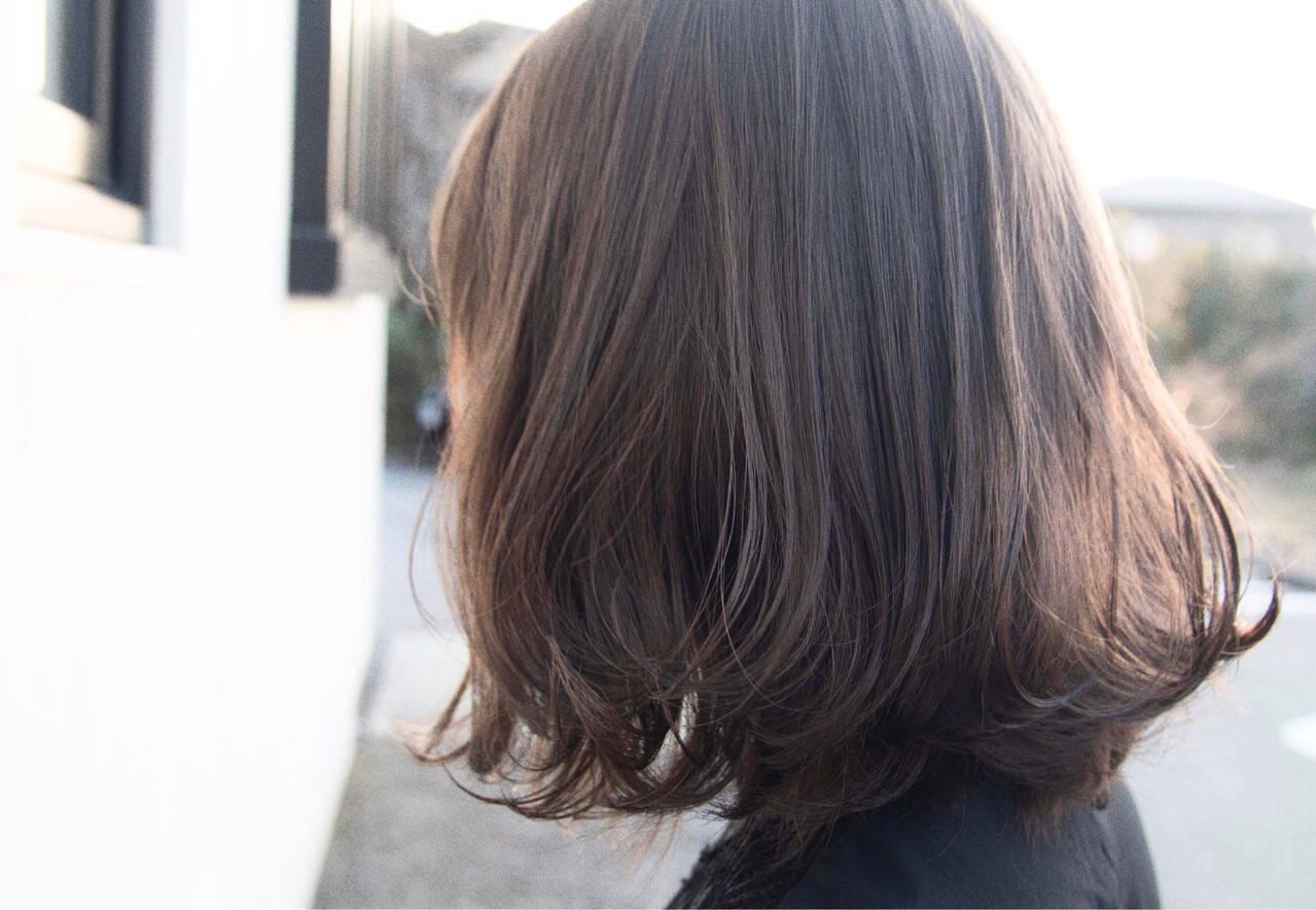 モテボブ ミニボブ ボブ パーマヘアスタイルや髪型の写真・画像