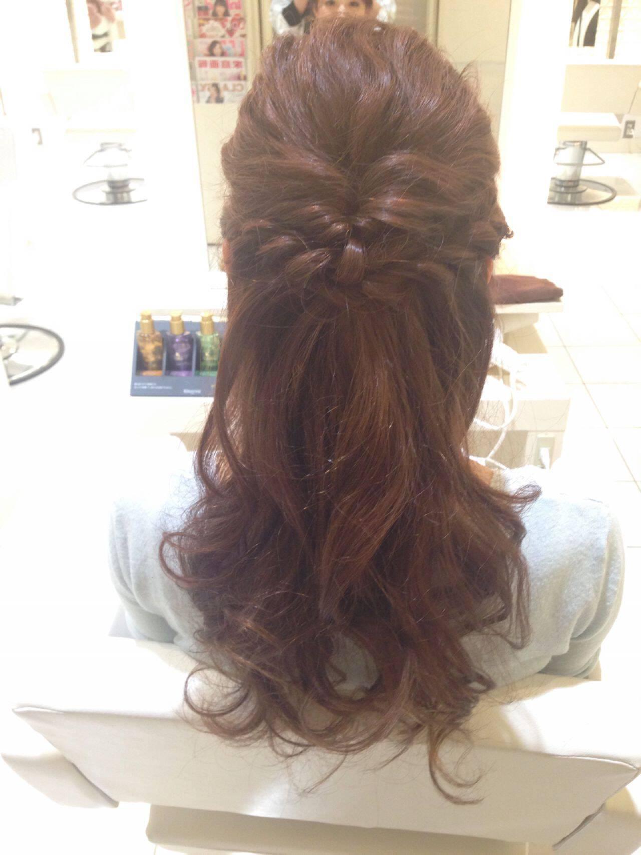 ヘアアレンジ 結婚式 ルーズ ショートヘアスタイルや髪型の写真・画像