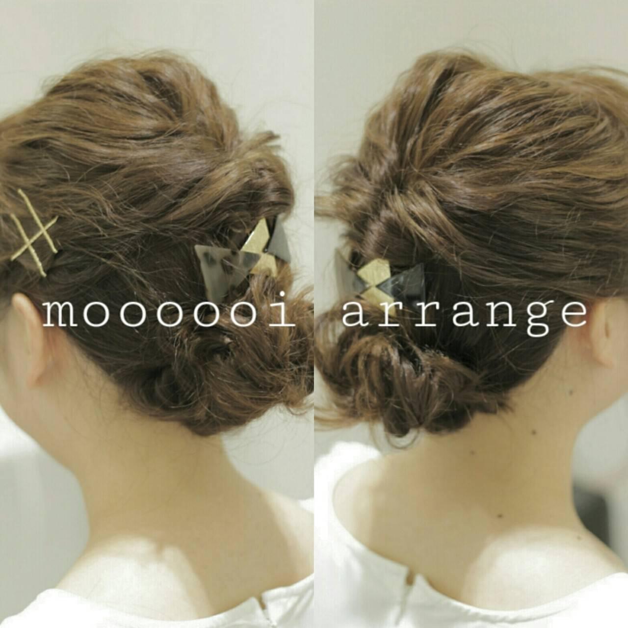 ミディアム ゆるふわ 大人かわいい 編み込みヘアスタイルや髪型の写真・画像
