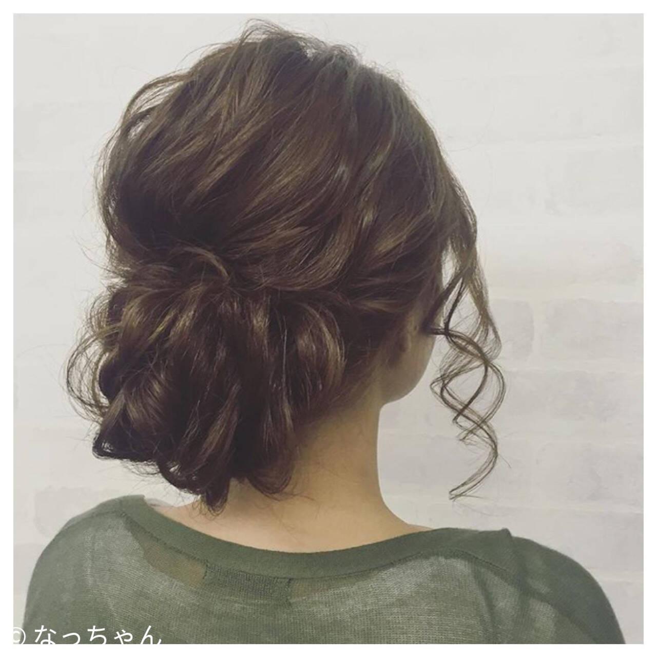 アップスタイル ロング パーティ ヘアアレンジヘアスタイルや髪型の写真・画像