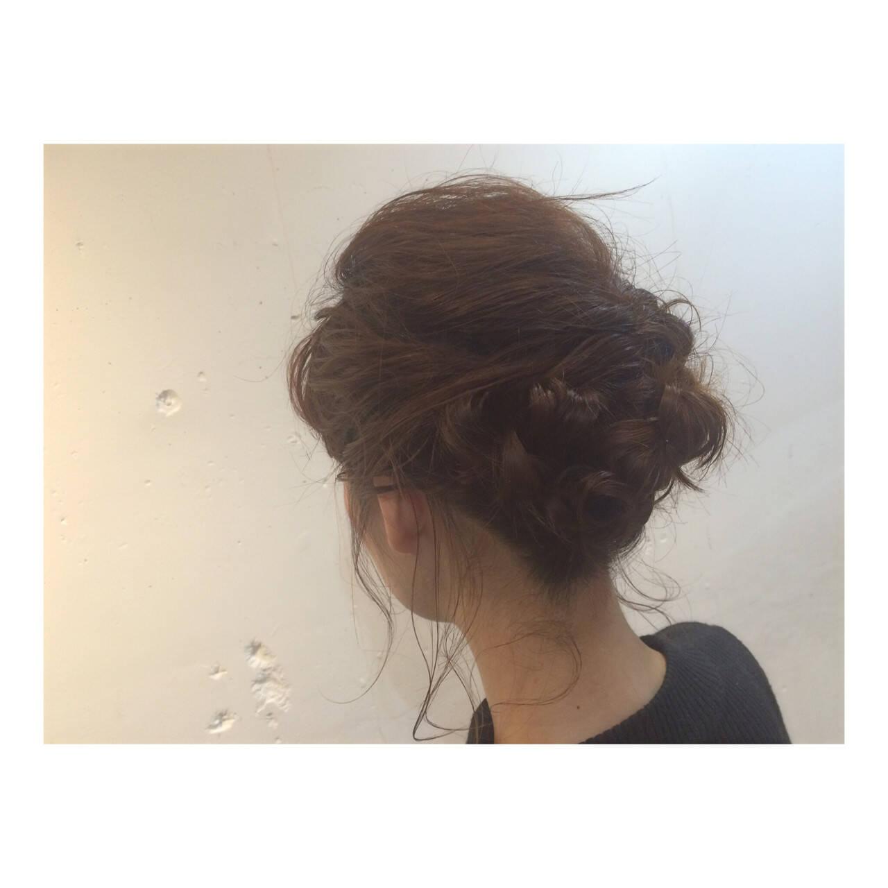 ヘアアレンジ 外国人風 ゆるふわ 大人かわいいヘアスタイルや髪型の写真・画像