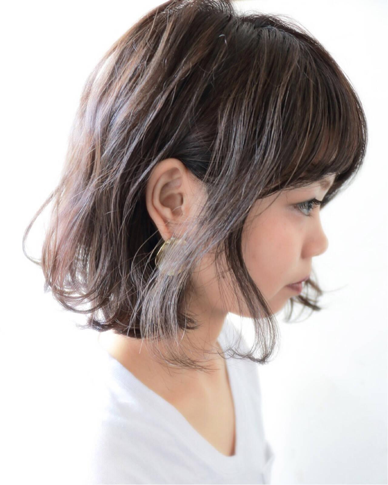 モテ髪 ゆるふわ パーマ ナチュラルヘアスタイルや髪型の写真・画像