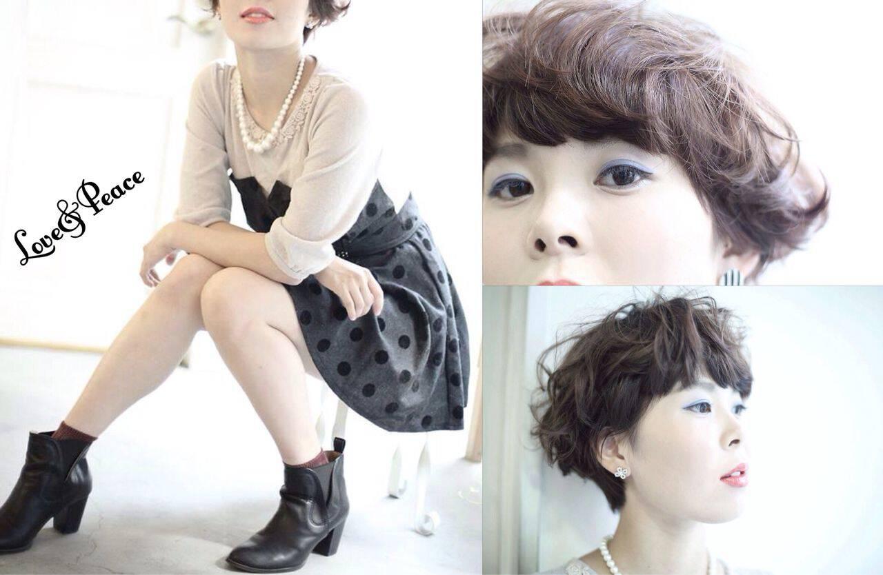 モード ウェーブ ナチュラル 秋ヘアスタイルや髪型の写真・画像
