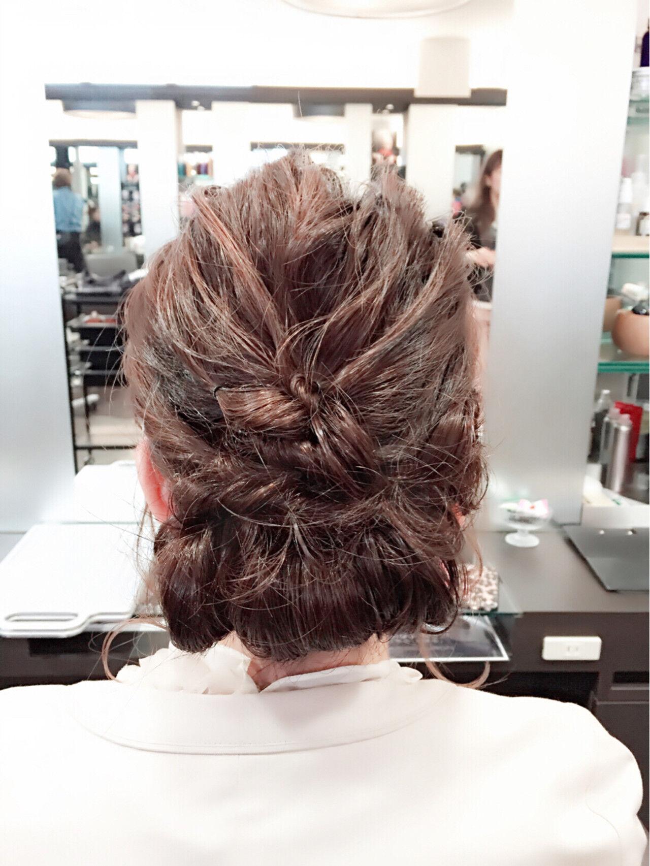 ボブ 大人かわいい フェミニン ヘアアレンジヘアスタイルや髪型の写真・画像