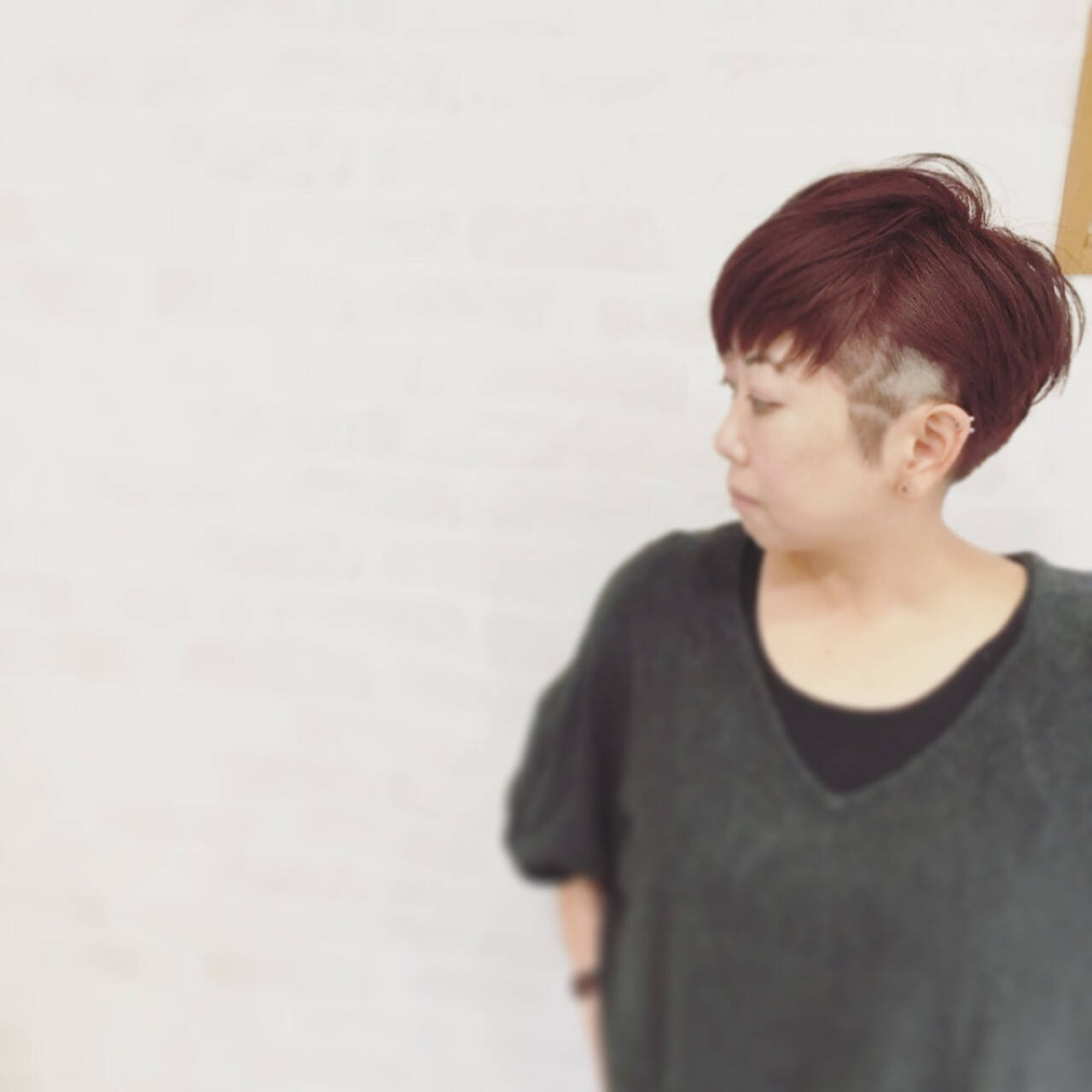 ショート 刈り上げ ストリート 坊主ヘアスタイルや髪型の写真・画像
