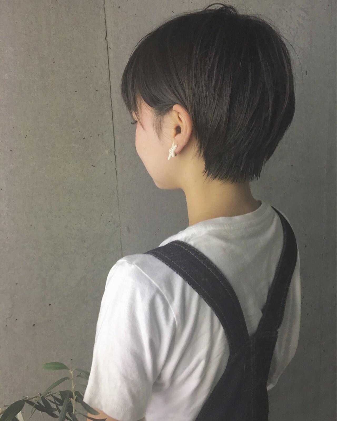 ナチュラル ラフ ストリート 透明感ヘアスタイルや髪型の写真・画像
