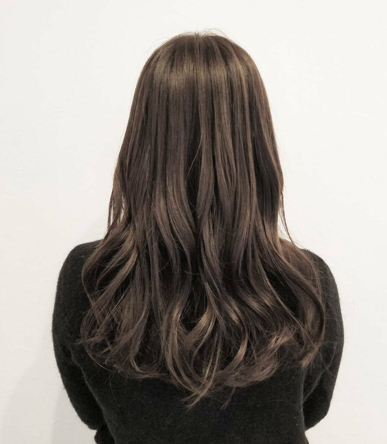ナチュラル 外国人風 ロング ハイライトヘアスタイルや髪型の写真・画像