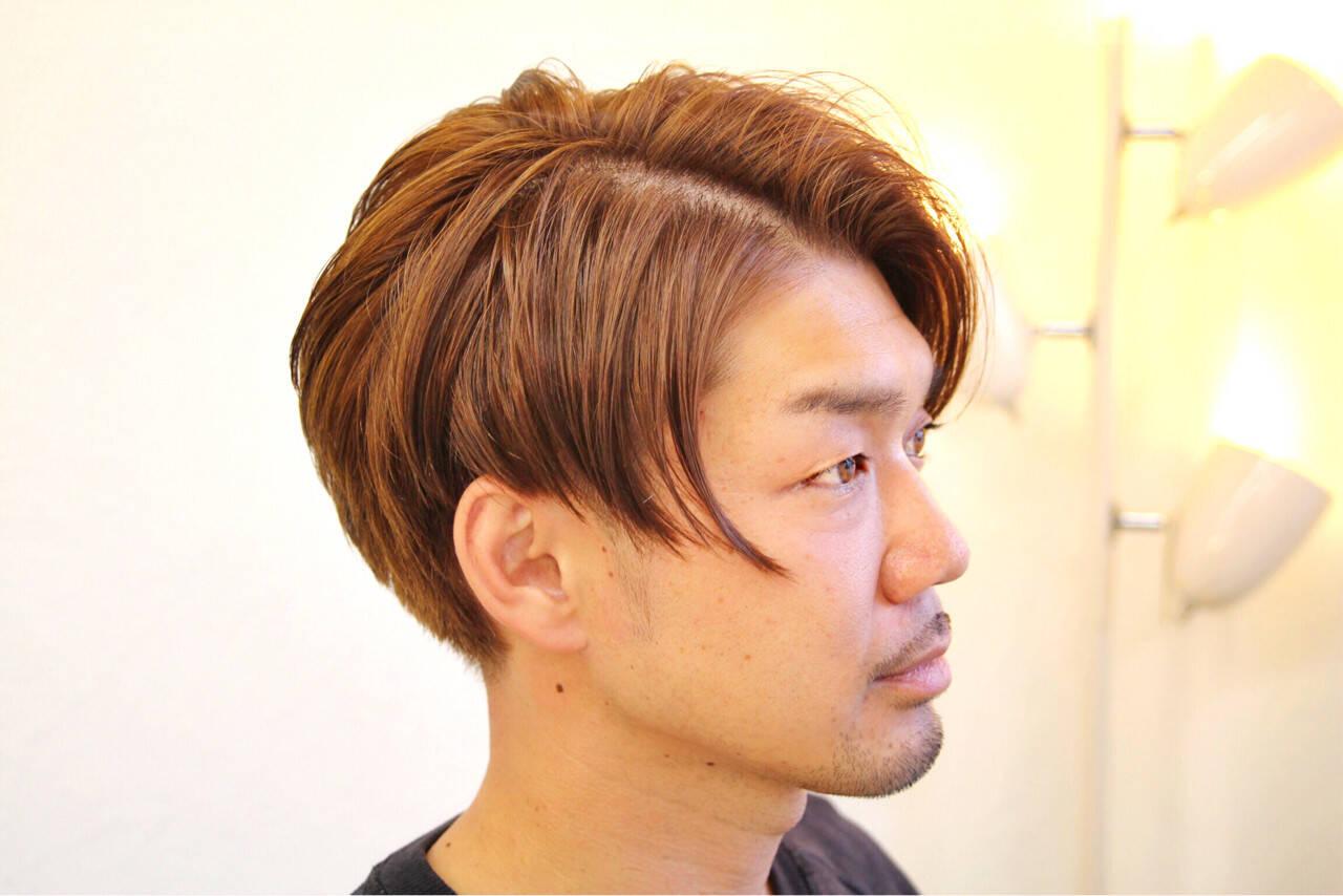 アッシュベージュ メンズ ストリート 坊主ヘアスタイルや髪型の写真・画像