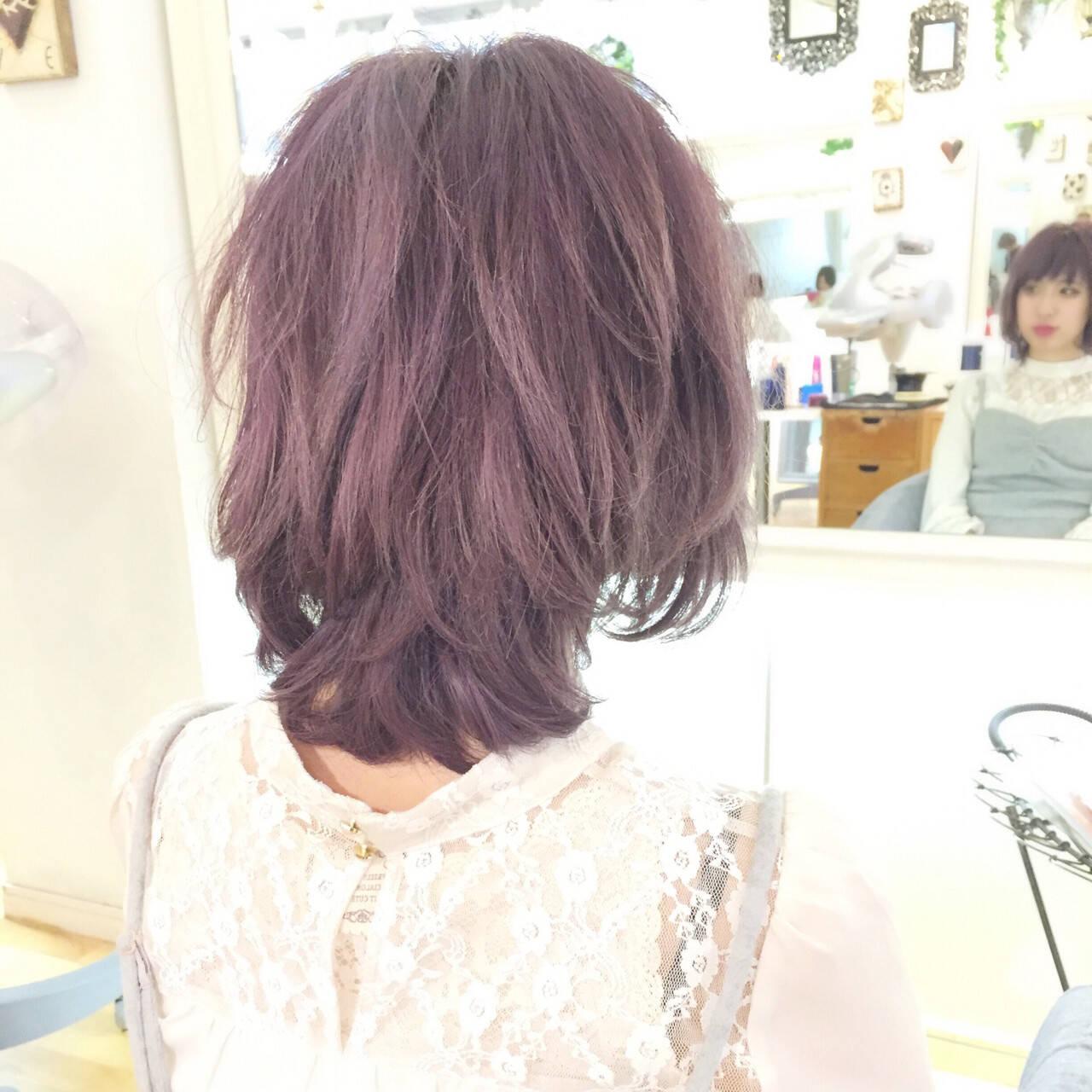 外国人風カラー ダブルカラー フェミニン ハイトーンヘアスタイルや髪型の写真・画像