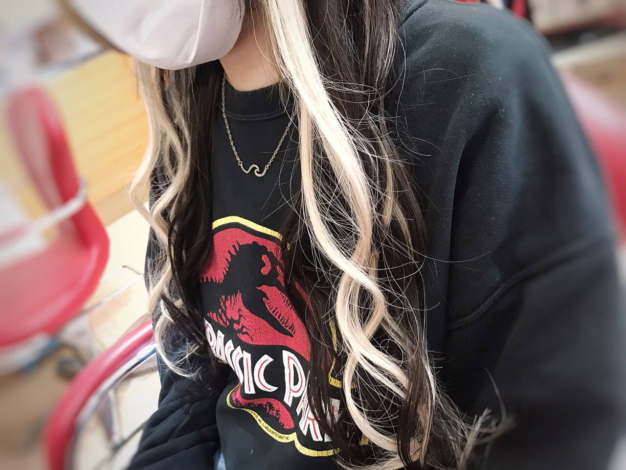 ストリート ハイトーン エクステ ハイライトヘアスタイルや髪型の写真・画像