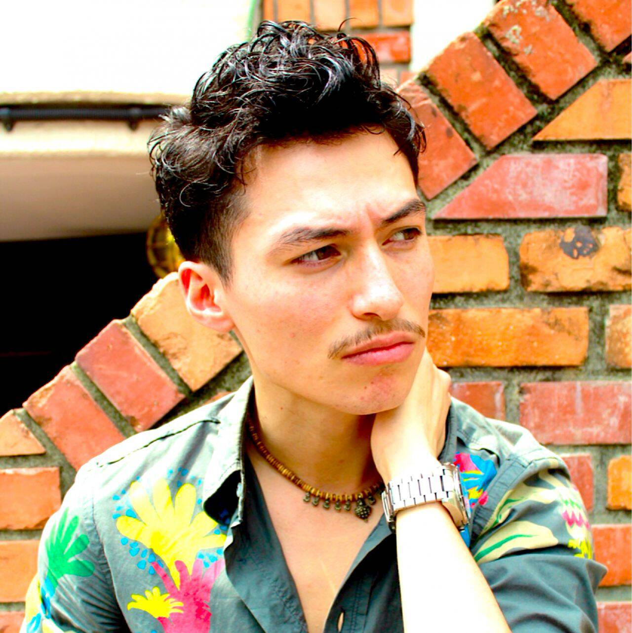 モテ髪 ボーイッシュ パーマ ショートヘアスタイルや髪型の写真・画像