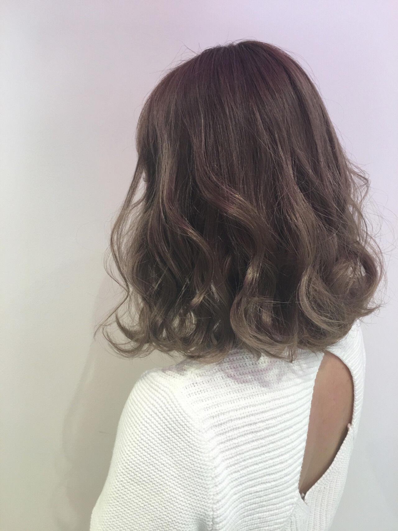 外国人風 大人かわいい グラデーションカラー ストリートヘアスタイルや髪型の写真・画像