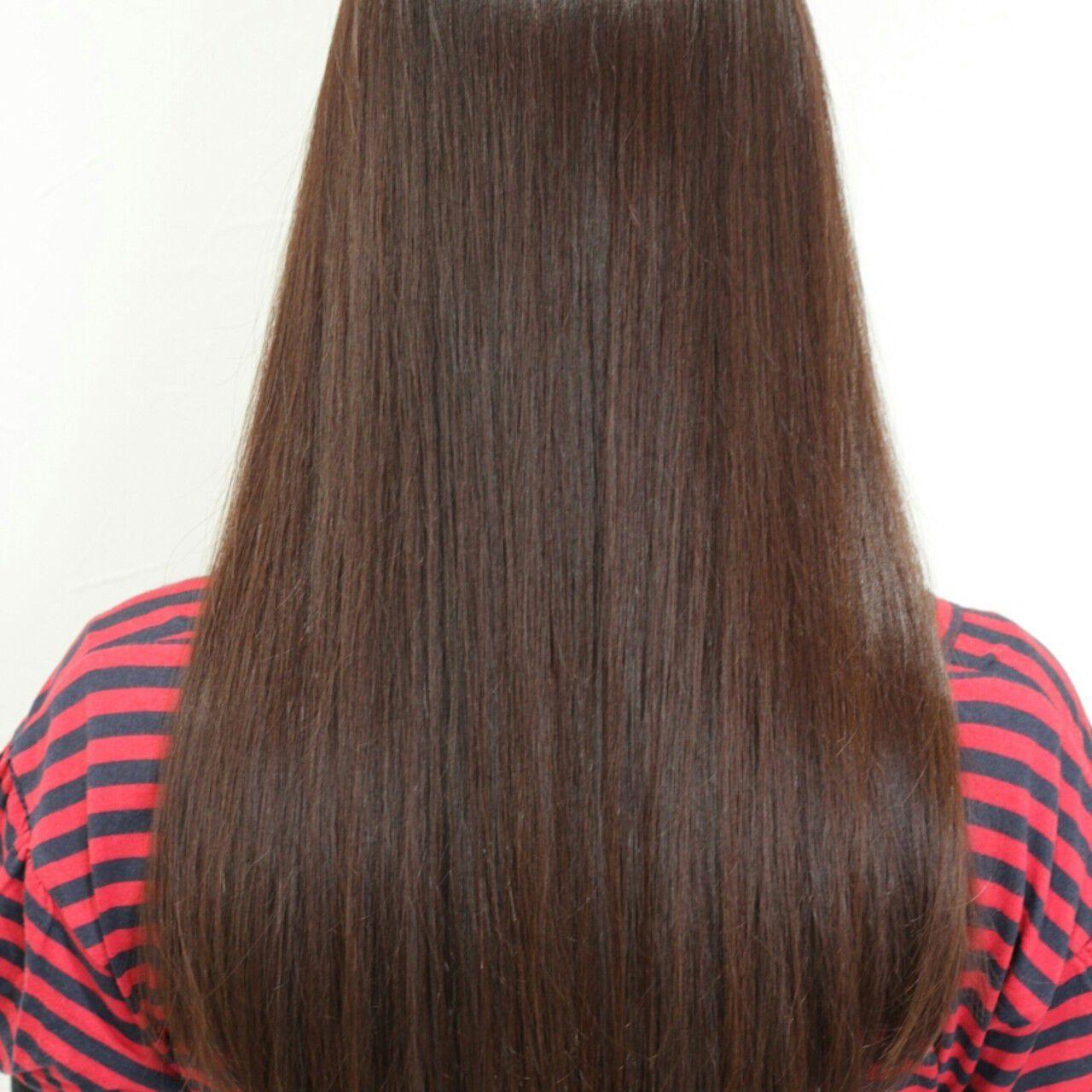 冬 大人かわいい コンサバ イルミナカラーヘアスタイルや髪型の写真・画像