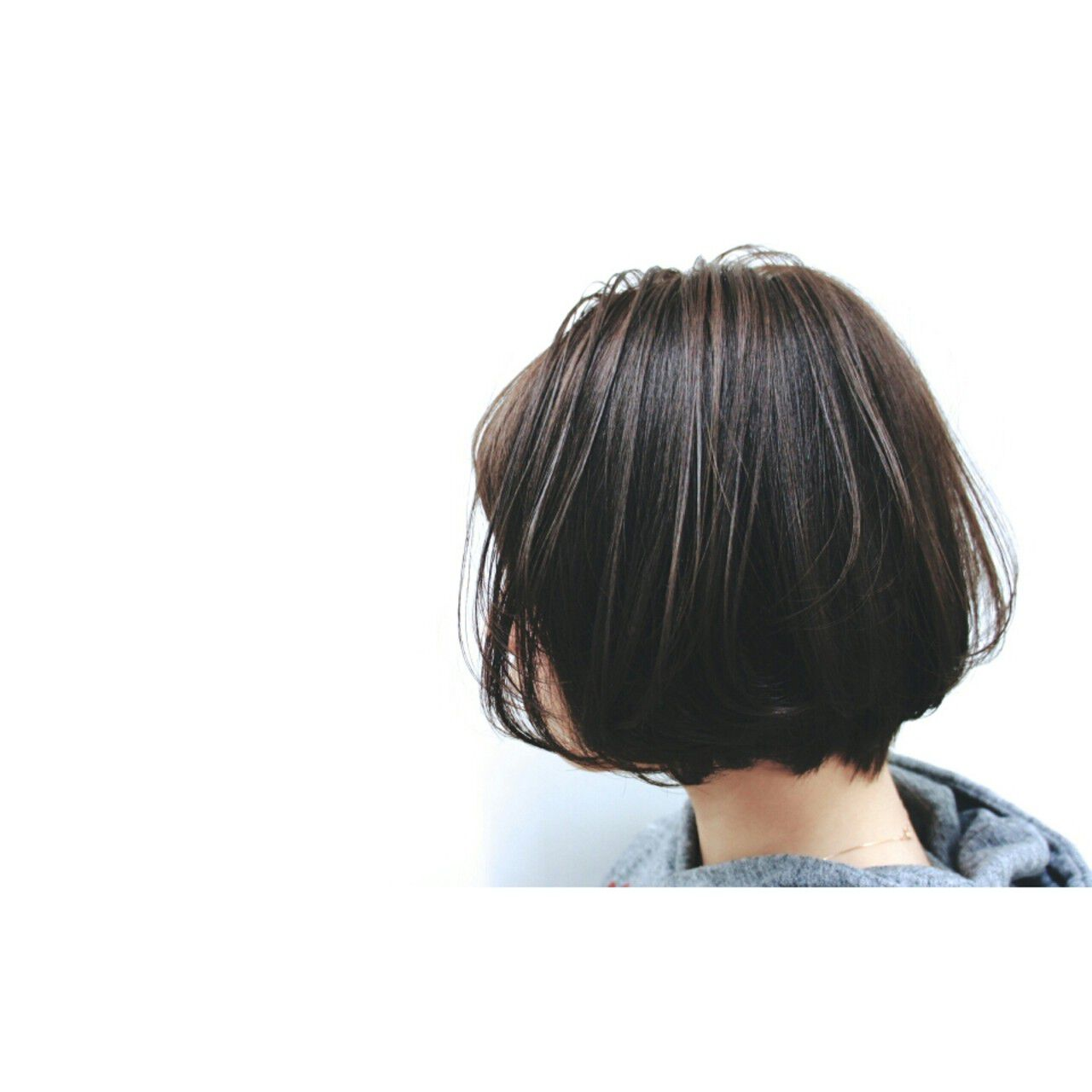 ナチュラル ショートボブ 小顔 大人女子ヘアスタイルや髪型の写真・画像