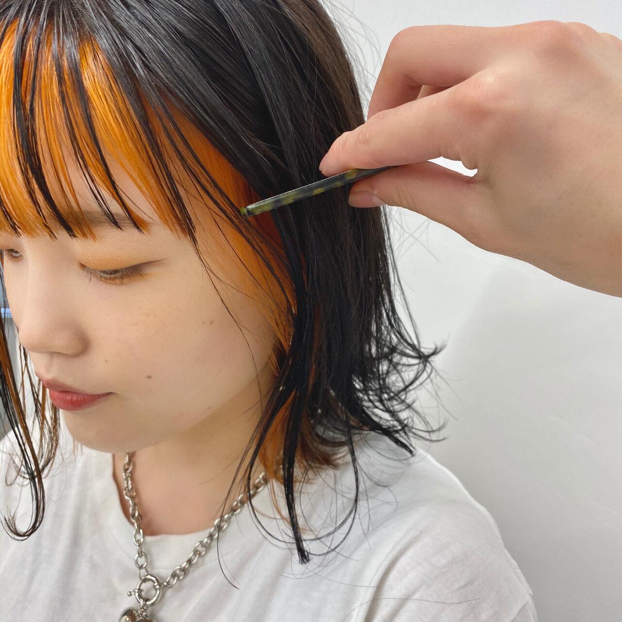 ナチュラル モテボブ 切りっぱなしボブ ボブヘアスタイルや髪型の写真・画像