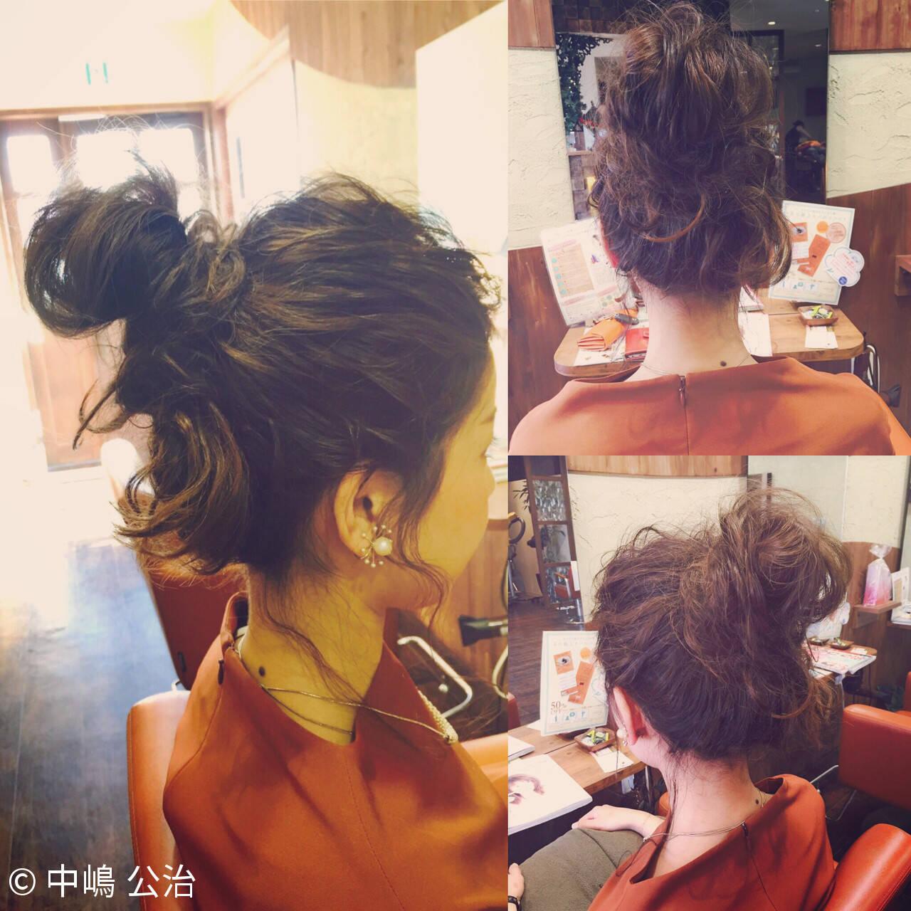 簡単ヘアアレンジ ショート 大人かわいい ヘアアレンジヘアスタイルや髪型の写真・画像