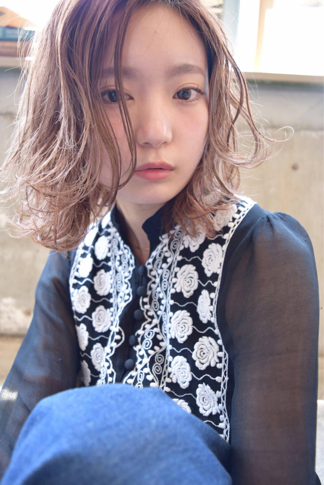 ショート ナチュラル ピュア 簡単ヘアアレンジヘアスタイルや髪型の写真・画像