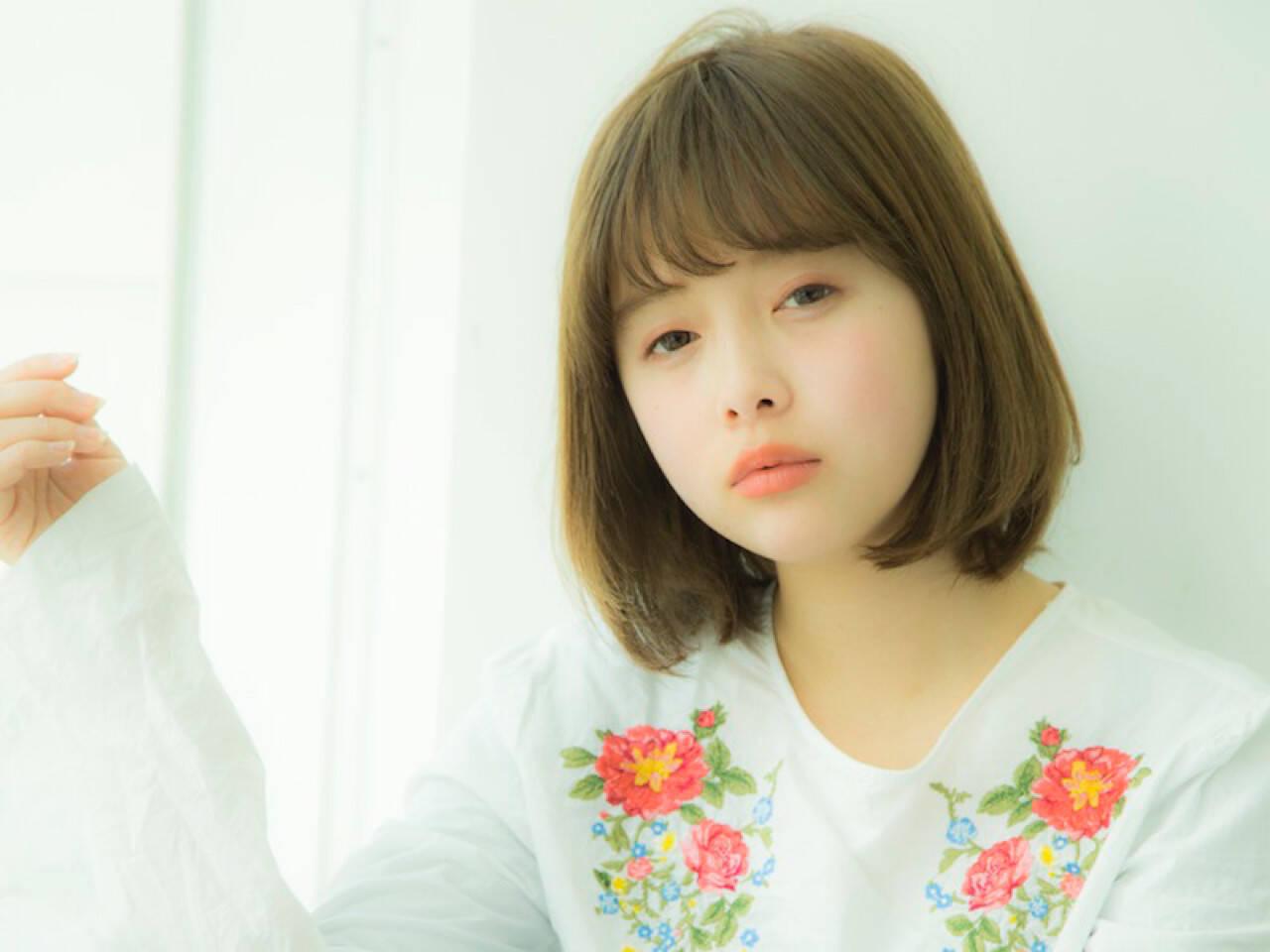 冬 ガーリー 大人かわいい 外国人風カラーヘアスタイルや髪型の写真・画像