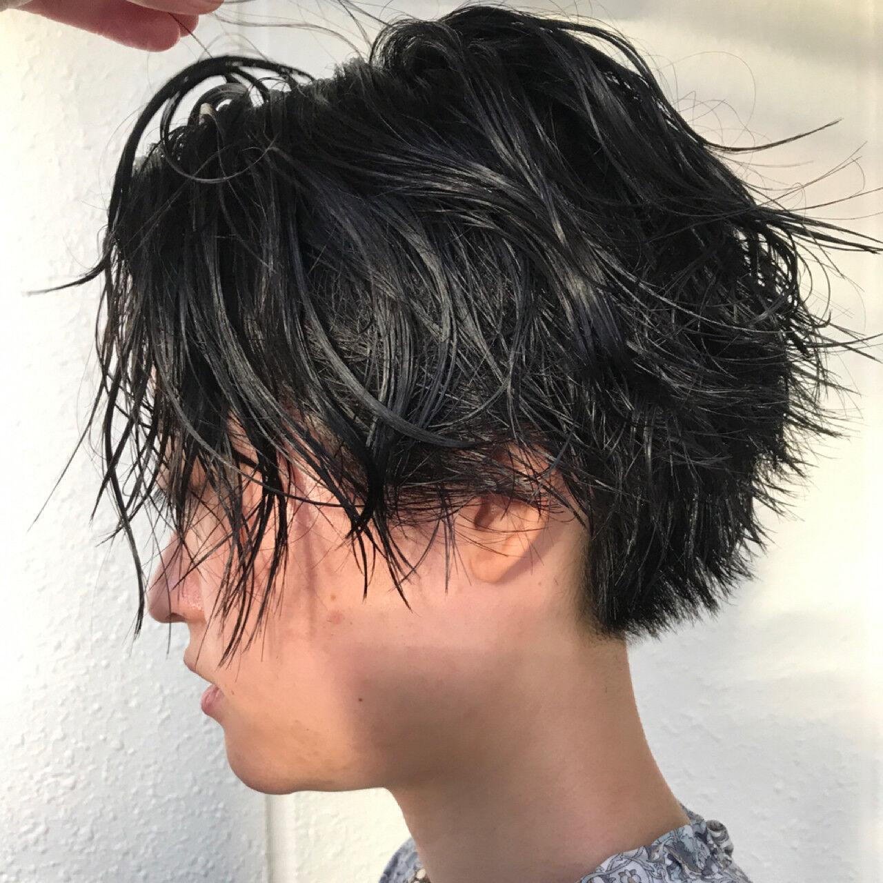 黒髪 ショート 大人女子 ヘアアレンジヘアスタイルや髪型の写真・画像