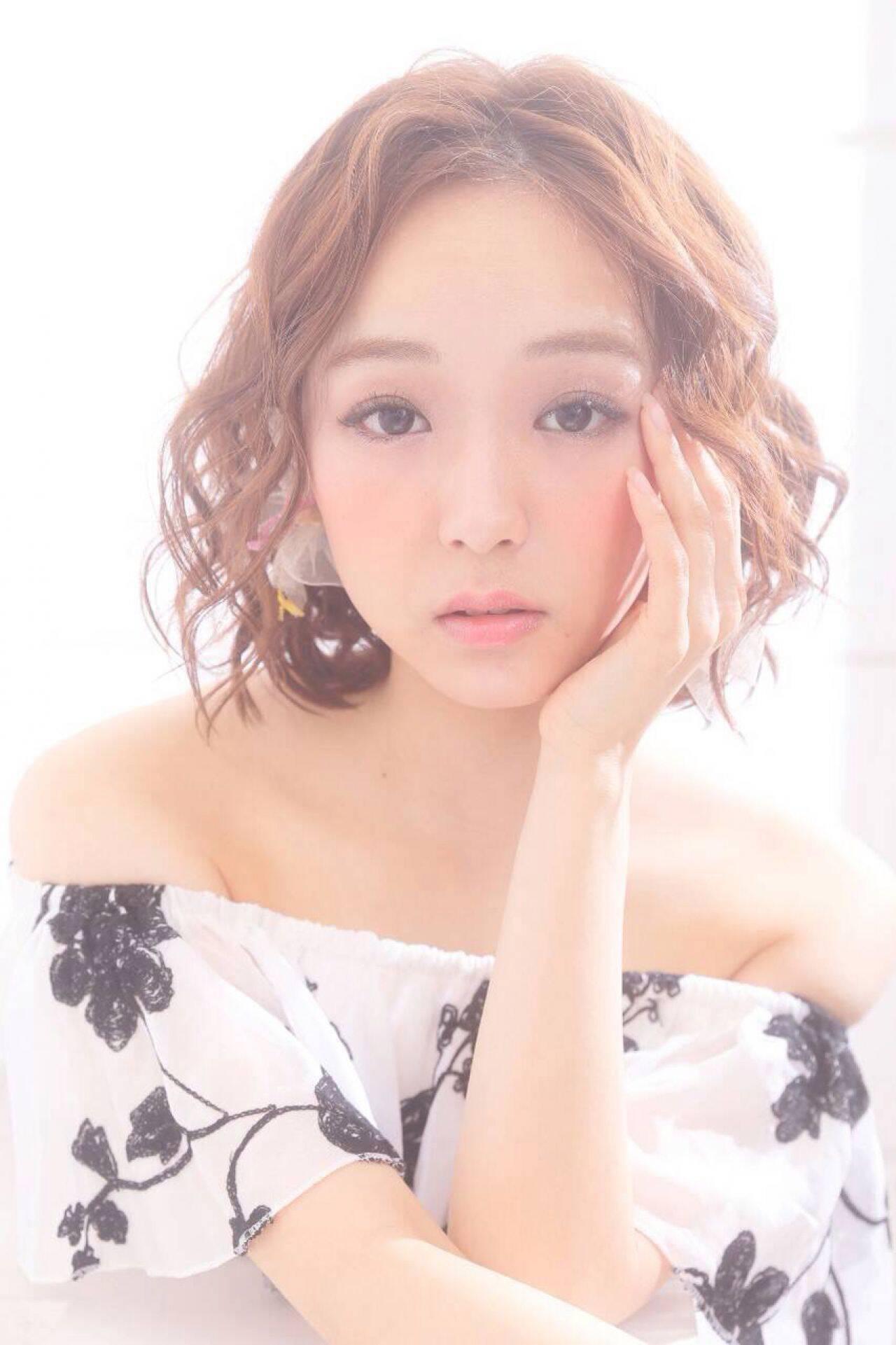 モテ髪 コンサバ 春 大人かわいいヘアスタイルや髪型の写真・画像