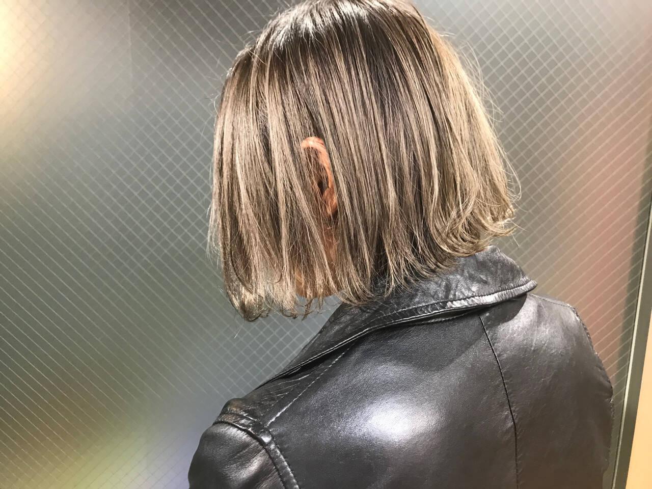 外国人風 ハイライト 外国人風カラー ナチュラルヘアスタイルや髪型の写真・画像