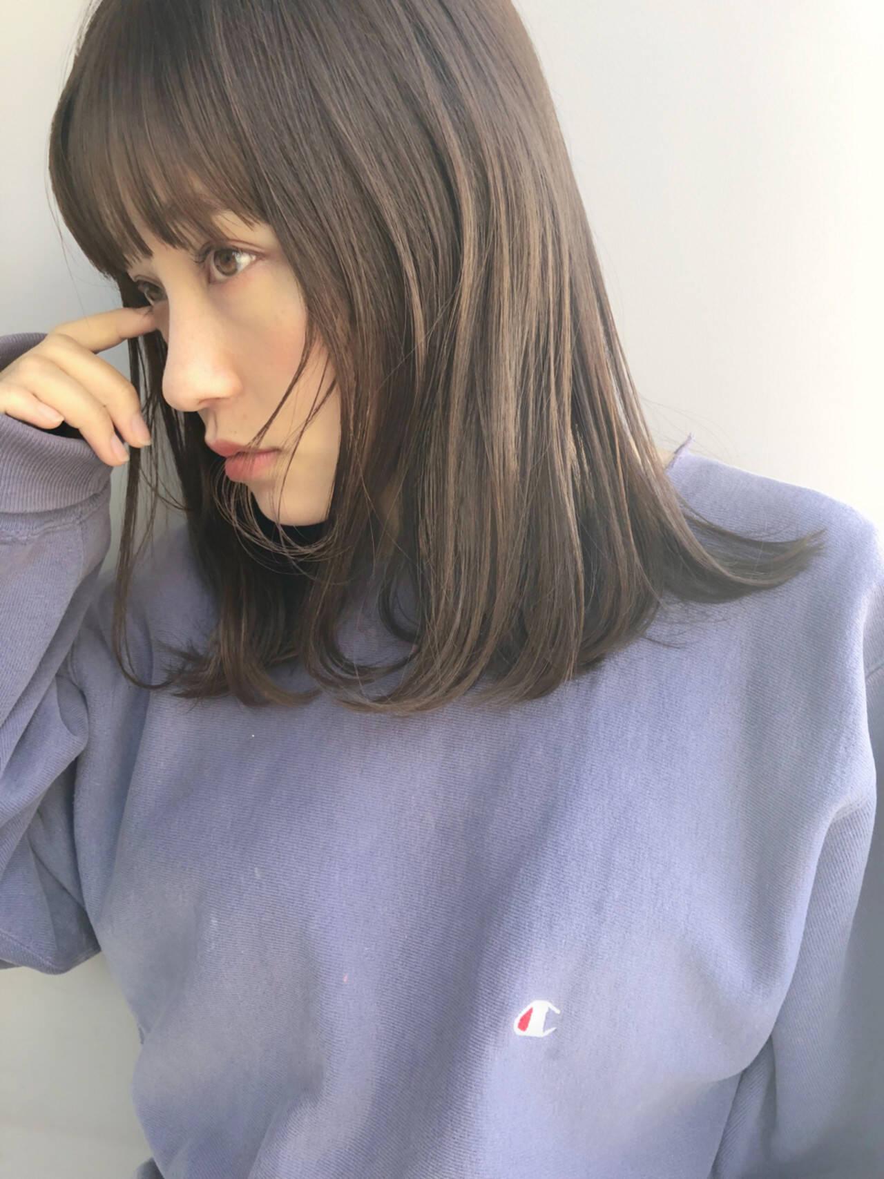 透明感 ヘアアレンジ ハイトーン 簡単ヘアアレンジヘアスタイルや髪型の写真・画像
