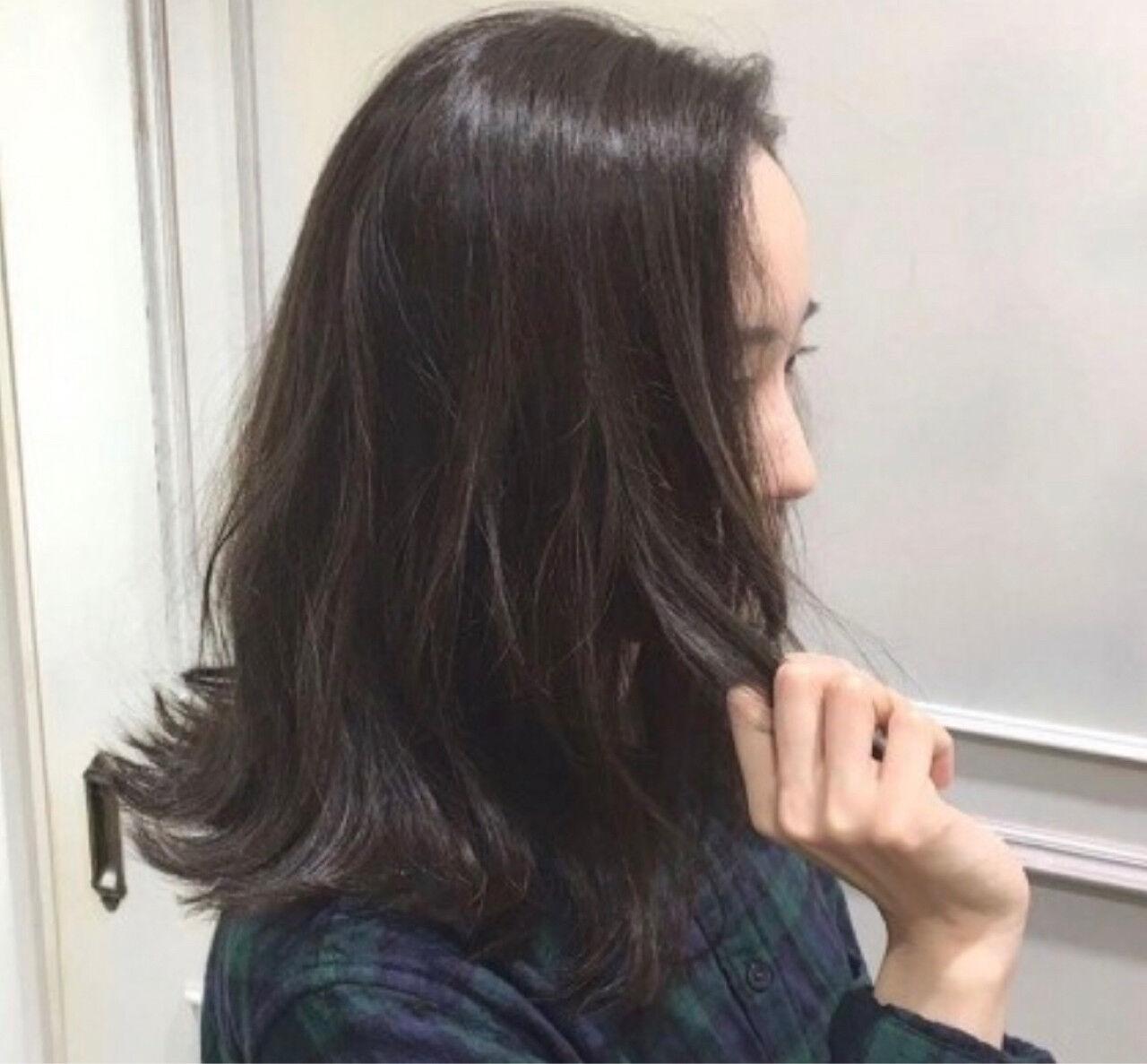 ゆるふわ ミディアム 外国人風 大人かわいいヘアスタイルや髪型の写真・画像