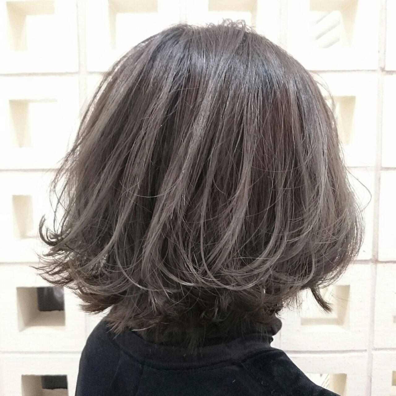 ストリート 大人女子 ボブ 外国人風ヘアスタイルや髪型の写真・画像