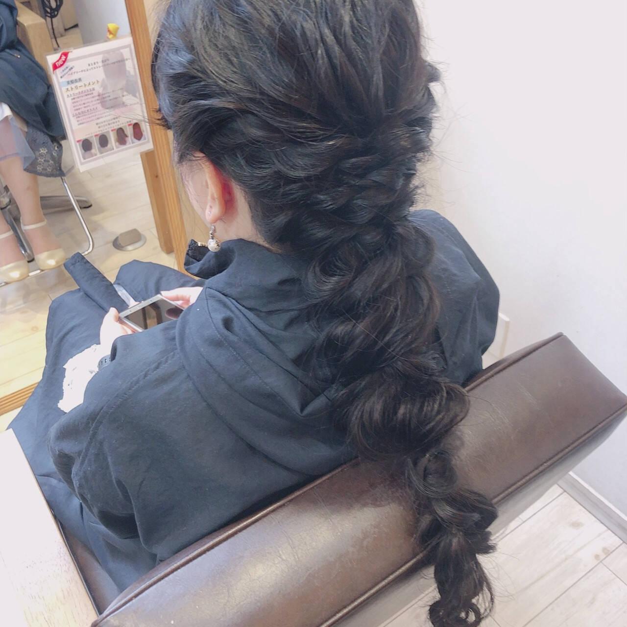 可愛い 大人可愛い ヘアアレンジ ロングヘアスタイルや髪型の写真・画像