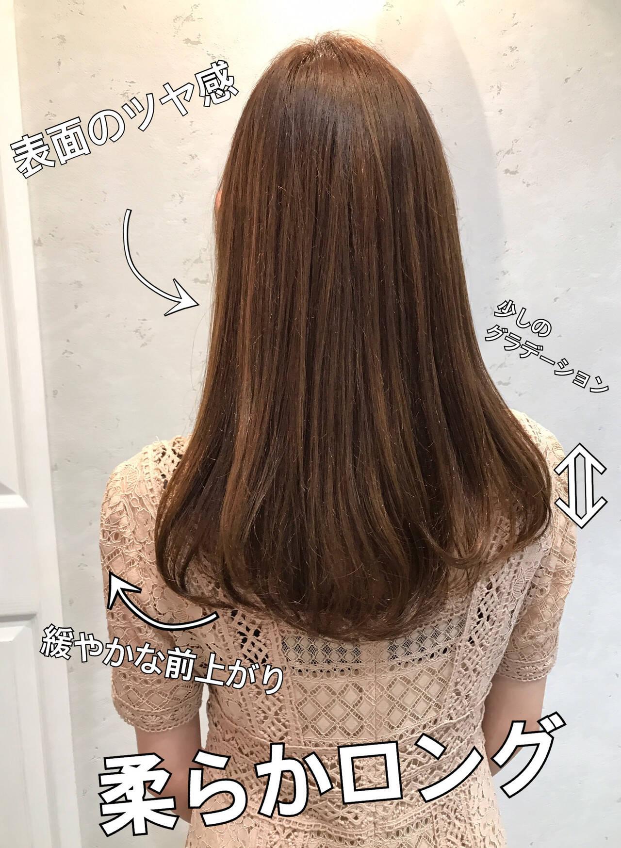 360度どこからみても綺麗なロングヘア ナチュラル ロングヘア ロングヘアスタイルヘアスタイルや髪型の写真・画像