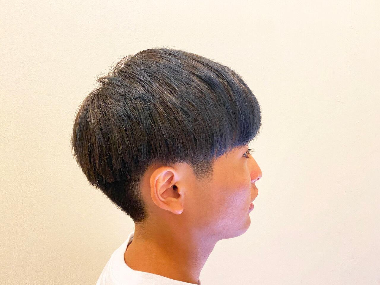 ショート メンズヘア メンズ マッシュヘアスタイルや髪型の写真・画像