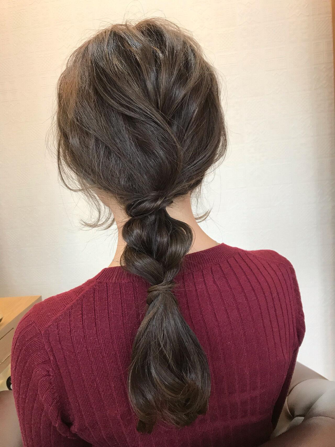 フェミニン アンニュイほつれヘア 結婚式 ヘアアレンジヘアスタイルや髪型の写真・画像